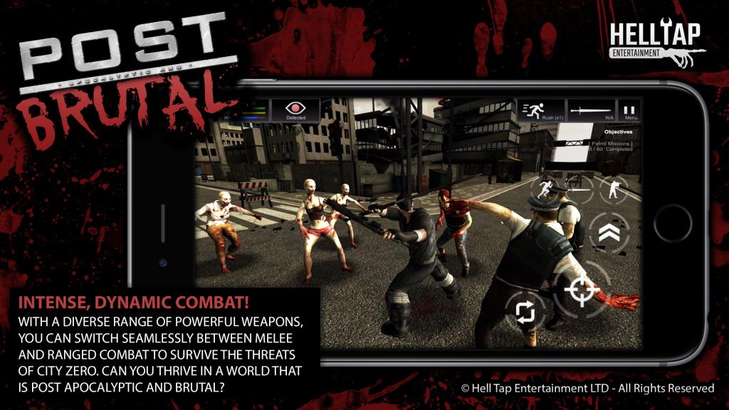 Post Brutal - Intense, Dynamic Combat!