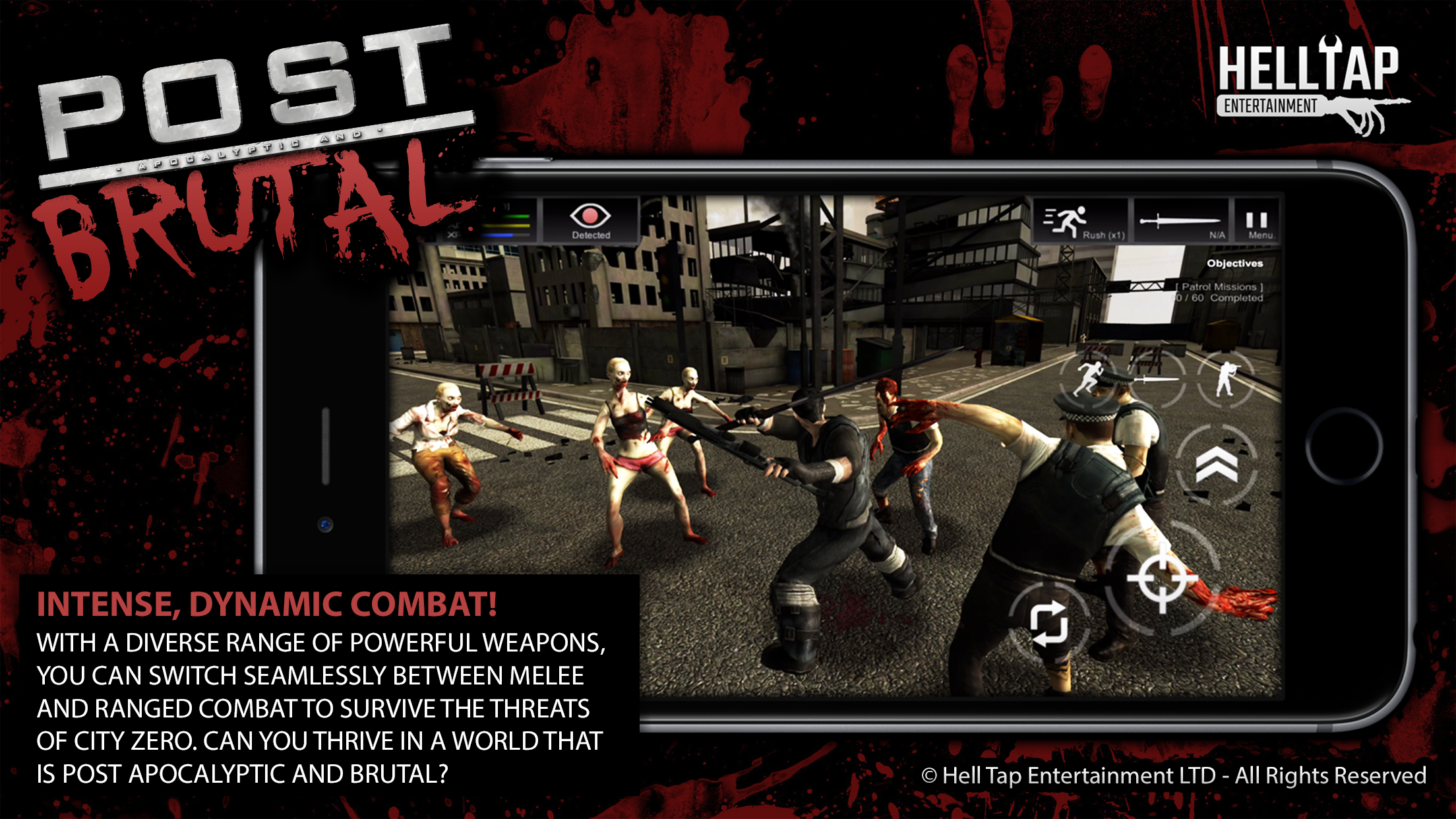 Post Brutal - Intense, Dynamic Combat!